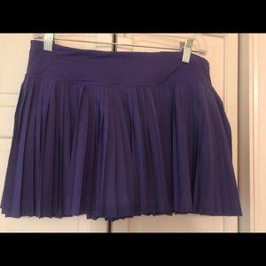 Lululemon purple workout skirt